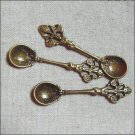 Lot of 100pcs spoon charm dollhouse miniature toy/jewelry bracelet  metal alloy Charm CM1078