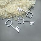 Lot of 400pcs mini silver Key dollhouse miniature toy/jewelry Charm CM1008