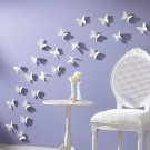 36pcs 3D Wall Sticker Butterflies Home Decor Room Decorations Stickers
