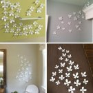 10pcs 3D Wall Sticker flower Home Decor Room pop up Decorations Stickers 8cm