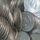 71, 72 AU, 74, Bicentennial type I, II, 77, 78 EISENHOWER DOLLAR COIN LOT of 10