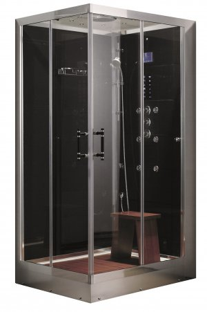 "48"" Eagle Bath WS-117 Steam Shower Enclosures Sliding Door Unit (RIGHT SIDE)"