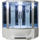 "66"" Eagle Bath WS-701 Steam Shower Sauna Encloures w/ Whirlpool Bathtub Combo Unit"