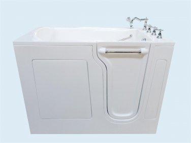 """53"""" Eagle Bath CWB-3053 Soaker Series Walk-In Bathtub (Right)"""