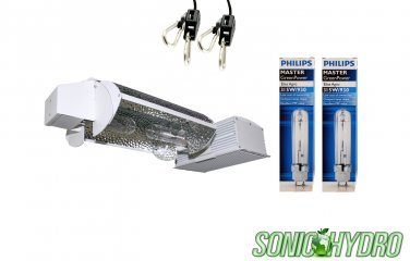 Sonic Hydro 630W CMH Grow Light w/Integrated 3-mode Adjustable Reflector w/Ballast 240V-Set