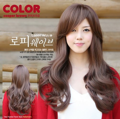 Long WAVE Cosplay Everyday Full Wigs With 1Cap WL25