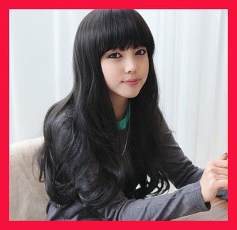 Long WAVE Cosplay Everyday Full Wigs With 1Cap WL34