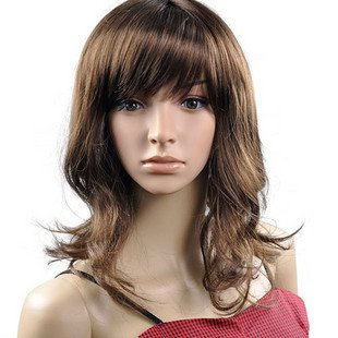 Long Wave Cosplay Everyday Full Wigs With One Cap WL48
