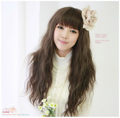 LONG CORN SILK WAVE COSPLAY PARTY HAIR FULL WIGS WL51