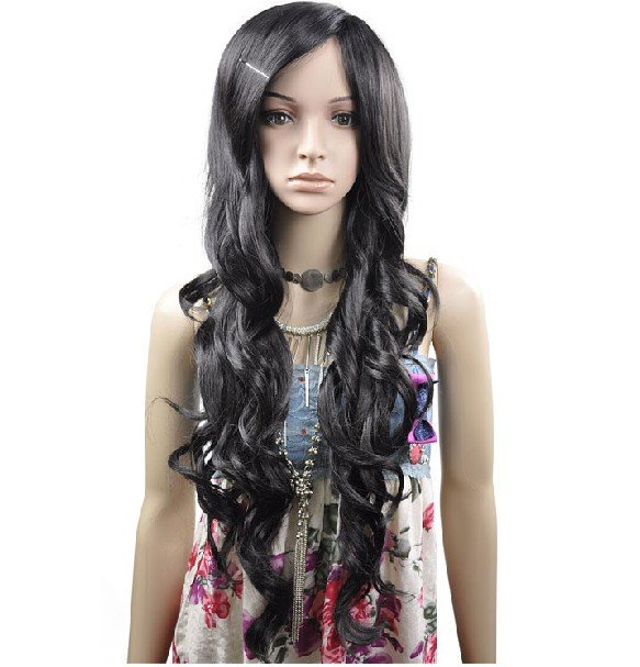 LONG Curls WAVE COSPLAY PARTY HAIR FULL WIGS WL56