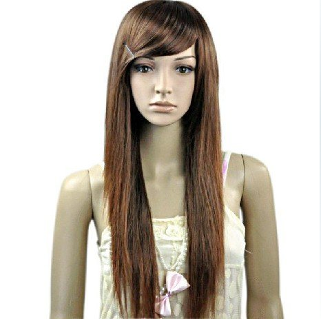 LONG STRAIGHT COSPLAY EVERYDAY HAIR FULL WIGS WL58