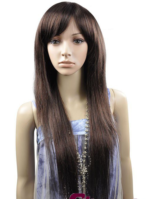 LONG STRAIGHT COSPLAY EVERYDAY HAIR FULL WIGS WL61