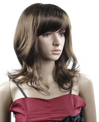 LONG WAVE COSPLAY EVERYDAY HAIR FULL WIGS WL63