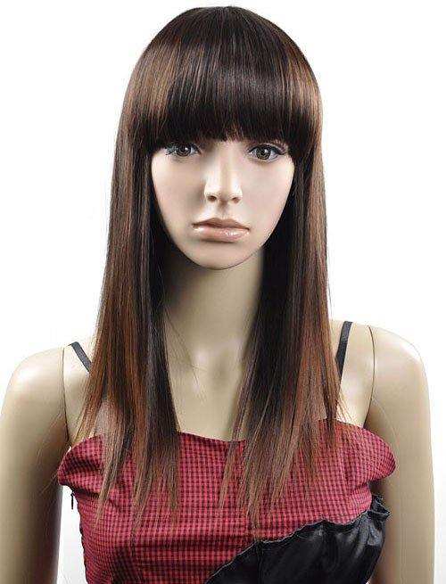 LONG STRAIGHT COSPLAY EVERYDAY HAIR FULL WIGS WL68