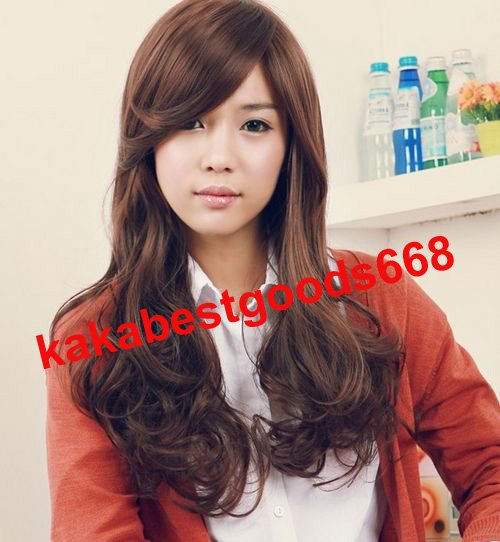 New Long WAVE Cosplay PartyFull Wigs With 1Cap WL78