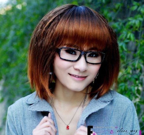 Short Straight Cosplay Everyday Full Wigs With One Cap WD43