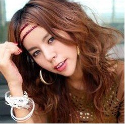 Girl's Lady Woman Hairband Hair Band Wigs Extensions PP20