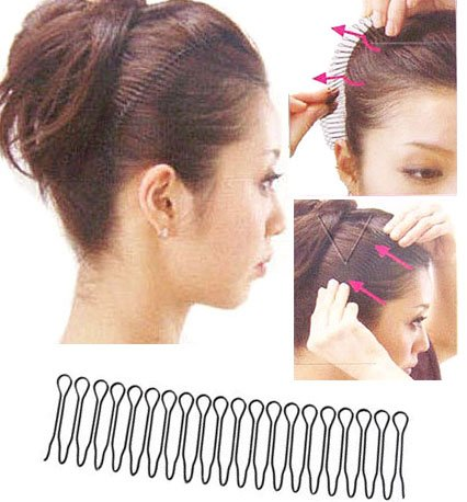 Girl's Invisible Hair Clip Comb Hairpin Bobby Pin Hair Band PP26
