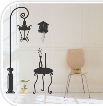 DIY Removable Wall Art Deco Decal StickersWB45