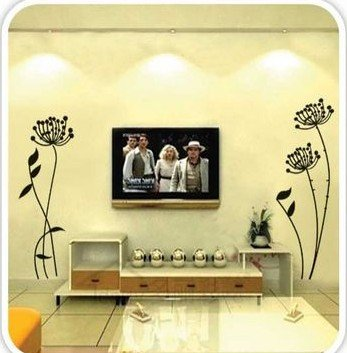 DIY Removable Wall Art Deco Decal Stickers Flower WB56