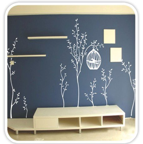 DIY Removable Art Deco Decal Wall Stickers Tree WB60