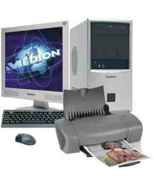 Medion Desktop PC and Printer Package