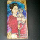 De La Luna Frida Kahlo Leather Wallets