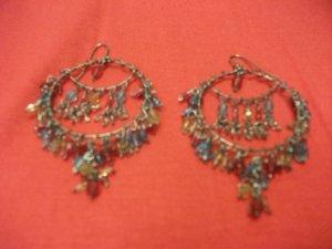 Multicolor Bead Earring Style 1