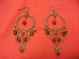 Multicolor Bead Earring Style 2