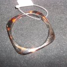 Turtle Shell Square Acrylic Bangle