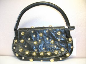 Olive Green with Gold Stud Handbag