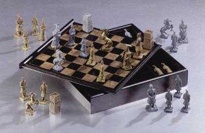Chinese Warrior Chess Set Item 34100