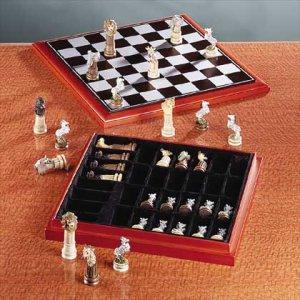Wildlife Animal Chess Set Item 32338