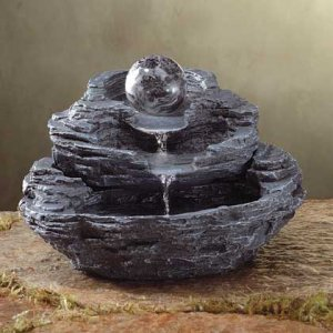 Rock Design Desktop Fountain Item 34807