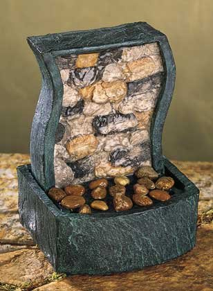 Rock Wall Desk Fountain Item 33541