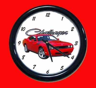 2009 Dodge Challenger RT Wall Clock