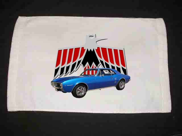 New 1967 Pontiac Firebird Hand Towel