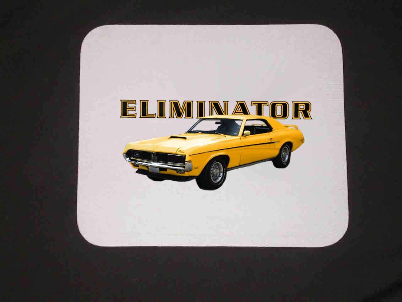 New 1969 Mercury Cougar Eliminator Mousepad!