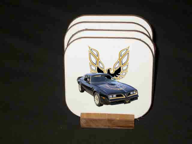 Beautiful 1977 Pontiac Bandit Trans AM Hard Coaster set