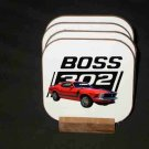 Beautiful 1970 Ford Boss Mustang Hard Coaster set!