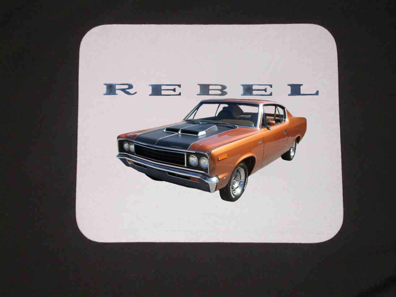 New 1970 AMC Rebel Mousepad!