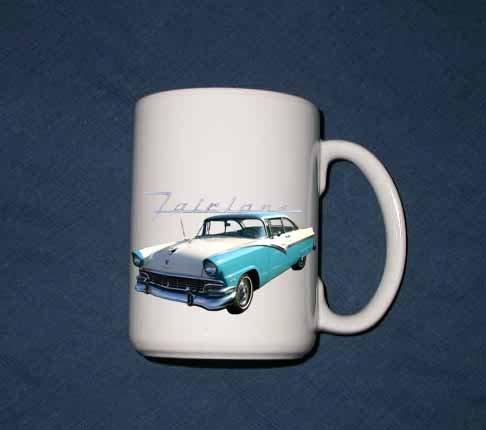New 15 oz. 1956 Ford Fairlane mug!