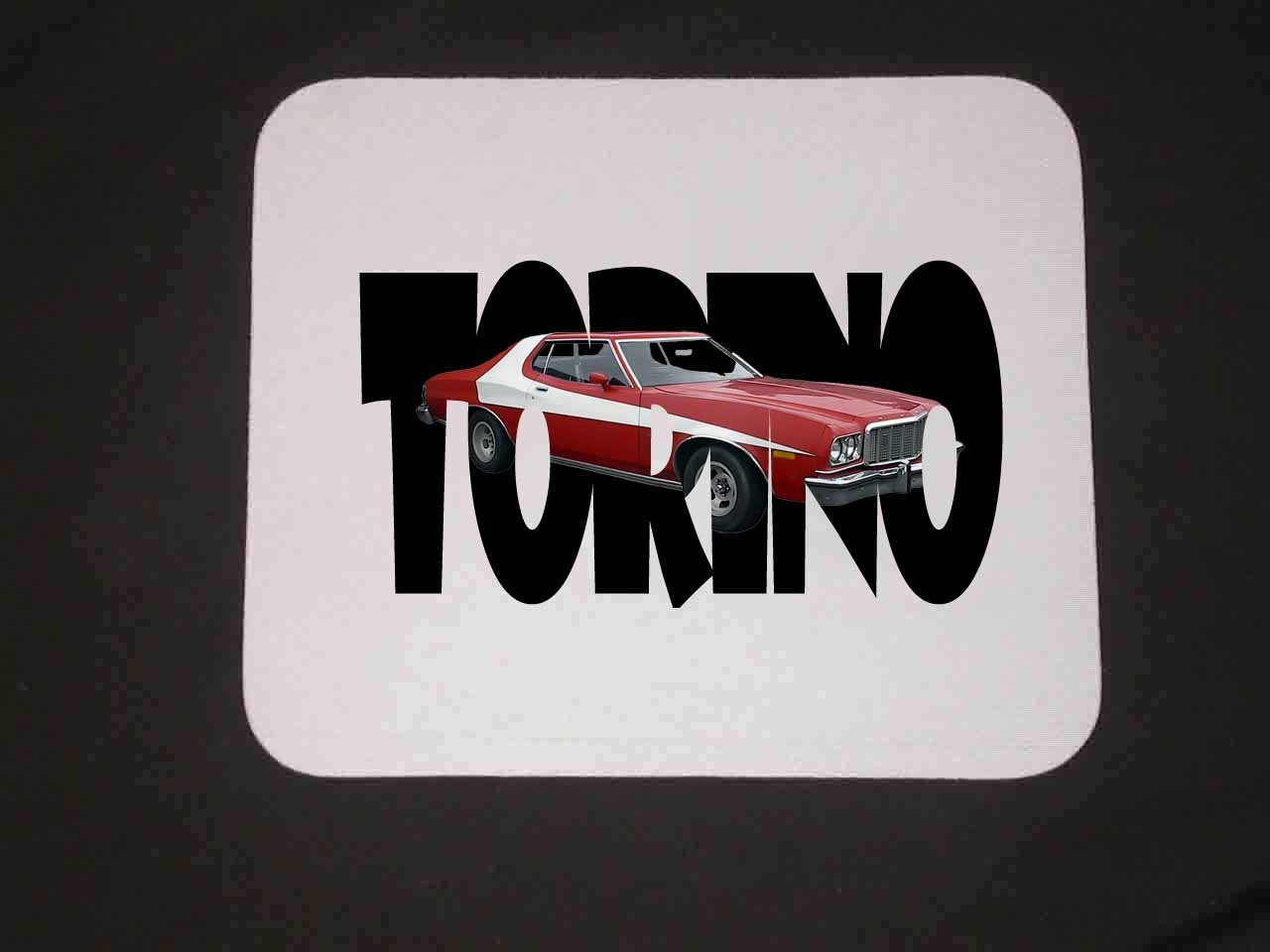 Starsky and Hutch Ford Gran Torino Mousepad!