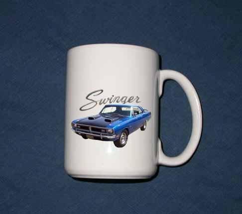 New 15 oz. 1970 dodge Dart Swinger mug!