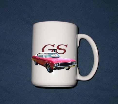New 15 oz. 1968 Buick GS mug