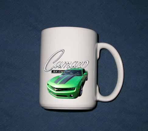 New 15 oz. 2010 Chevy Synergy Camaro mug!