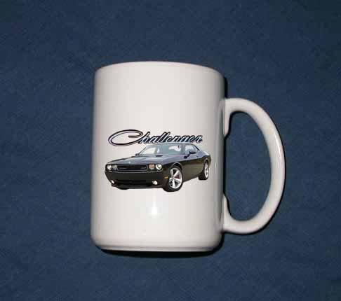 New 15 oz. 2009 Dodge Challenger mug!