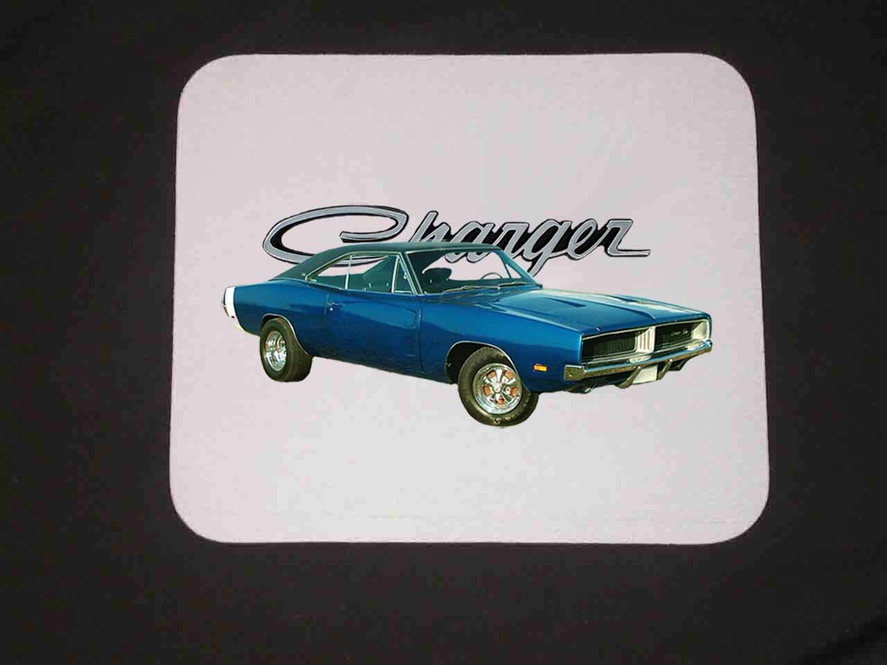 New 1969 Dodge Charger RT Mousepad!!