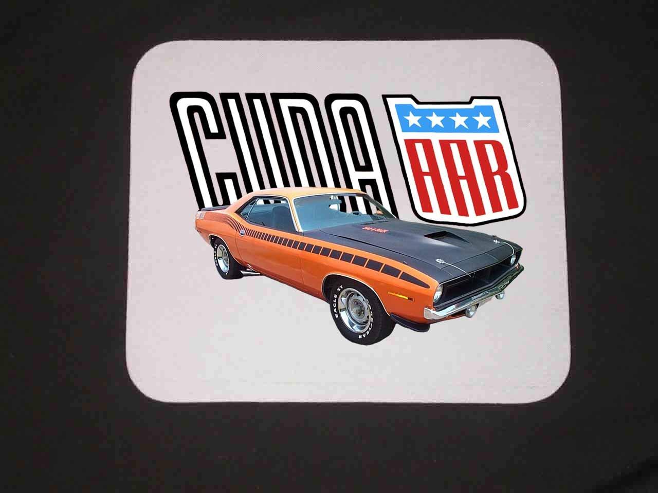 New 1970 Orange Plymouth AAR Cuda Mousepad!!