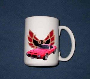 New 15 oz. 1972 Pontiac Formula Firebird mug